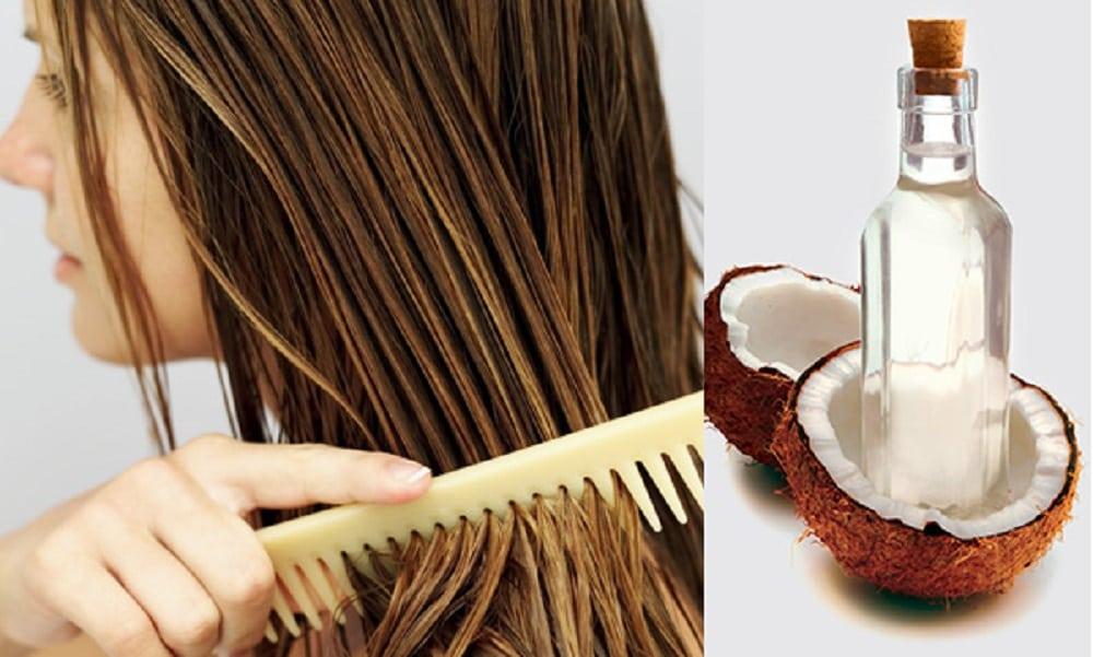 Zalety oleju kokosowego na włosy