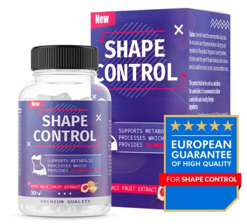 Shape Control - 2020 - skład, ceny, gdzie kupić?